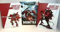 2015 Warhammer 40K War Zone Damocles Mont'ka Book Set NEW