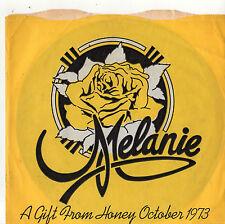 "Melanie - 7"" Flexidisc Single 1973 Includes Brand New Key (Live) / PROMO"