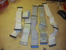 "Lot of 5 Internal IDE/EIDE/PATA Ribbon Cable, 3 Ports Each, 18"" & 21"""