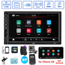 7 inch 2 DIN Car Stereo MP5 Player Touch Screen Bluetooth USB AUX Radio Receiver