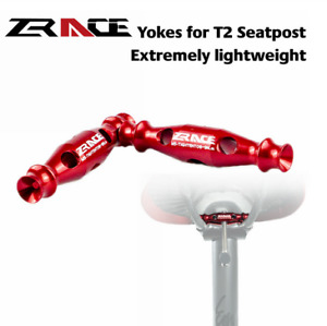 ZRACE Extremely lightweight Yokes for T2 Seatpost Parts Of Passion Seatpost Yoke