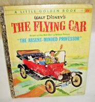 A Little Golden Book Walt Disney's The Flying Car Edition A The Absent Minded