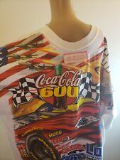 Chase Authentics Nascar Charlotte 2001 Men's T Shirt Coca Cola 600 Winston Cup