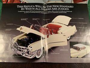 "Danbury Mint ""The 1953 Cadillac Eldorado 1:16 scale""  Brochure."