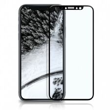 3D Panzer Glasfolie iPhone X Curved Display Schutz Folie Full Screen Echt Glass