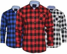 Camisas y polos de hombre de manga larga sin marca 100% algodón