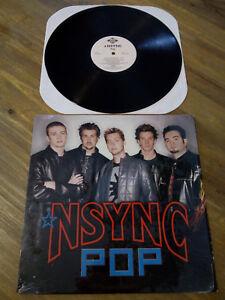 """Vinile Viny NSYNC Pop 12"""" 33 Giri LP Justin Timberlake Like New"""