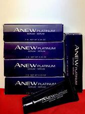 "Avon (Lot Of 5) Anew ""Platinum Serum�. Travel Size. 0.25 oz. New"