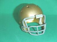 NOTRE DAME Mini pocket pro football helmet.. Custome Made.