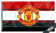 Manchester United Flag Banner 3x5 ft Football Soccer Red Devils 3 Colors Cassatt