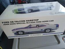 1 18 Scale Biante Ford XB Falcon Hardtop John Goss Special (horn Car) Blue