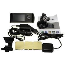 Dual Lens G-sensor GPS Car Camera Dash Video Cam With 32GB TF Card HD 2.7''