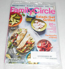 Family Circle Magazine June 2017 Water Parks Robot Cleaners Diet Tips Workouts