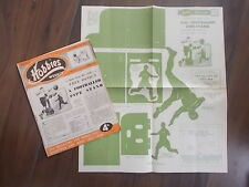 HOBBIES WEEKLY MAGAZINE NOVEMBER 12th 1952 FREE DESIGN A FOOTBALLER PIPE STAND