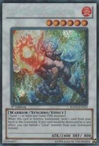 YUGIOH Card Laval the Greater HA05-EN023 Secret Rare 1st Edition