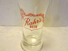 FEDERAL GLASS  RAHR'S BEER BREWERIANA TUMBLER Wisconsin VINTAGE