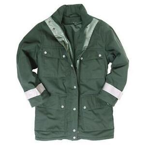 Genuine German Army Border Police GoreTex Waterproof Parka Jacket Thermal Liner