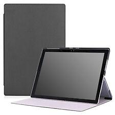 Microsoft Surface Pro 4 12.3 inch Tablet Case Ultra Slim Lightweight -MoKo Black