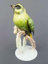 Rosenthal Vogel Figur, Zeisig, Entwurf F.Heidenreich 1937, Höhe 14 cm