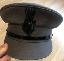 Denton Hats Chauffeur Hat Dark Grey 55cm or 6 3/4in Brand New