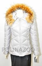 1 Guess QUILTED PUFFY JACKET FAUX FUR HOODED Puffer Black Wine Gray Beige NEW