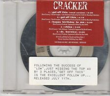 (EK753) Cracker, Get Off This - 1992 DJ CD