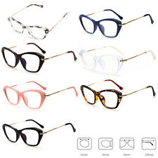 Women Sexy Eyeglasses Metal Frame Cat Eye Clear Lens Eye Glasses Optical Glasses