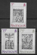 ANTIGUA , 1971 , EASTER , SET OF 3  STAMPS , PERF , MNH