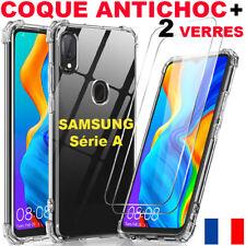 Coque Pour Samsung A51 A41 A21s A20e A40 + Verre Trempé Vitre Protection Ecran