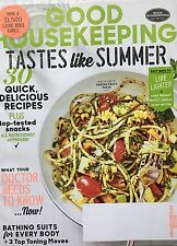 Good Housekeeping Magazine June 2017 Tastes Like Summer! Live Lighter!