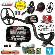 Garrett At Max Metal Detector Z-Lynk Wireless Headphones & Propointer At & more!