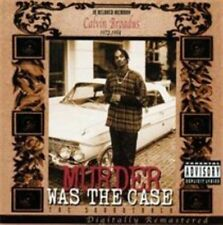 Murder Was the Case [The Soundtrack] [PA] by Snoop Dogg (CD, May-2001, Death Row (USA))