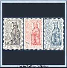 1954 Liechtenstein Anno Mariano n. 291/293 Nuovi Integri **
