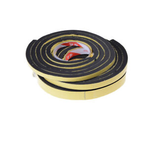Self Adhesive Foam Sealing Tape Strip Sticky EPDM Sponge Rubber Thick_cd