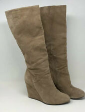 BCBGeneration BOOTS Tall Wedge Suede 10