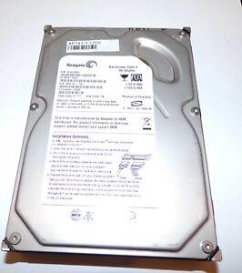 """Seagate Barracuda ST3808110AS 80GB 3.5"""" SATA II Hard Disk Drive HDD"""