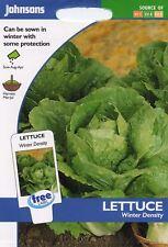 Johnsons - Pictorial Pack - Vegetable - Lettuce Winter Density - 1250 Seeds