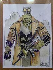 Yannick Paquette Signed Exclusive Art Batman V Superman BvS Nightmare Batman