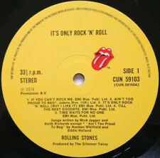 The Rolling Stones - It's Only Rock N Roll LP - Yellow Label. Selling more vinyl