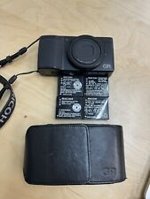 Ricoh GR 16.2MP Digital SLR Camera - Black