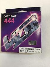 CORTLAND 444 LAZER LINE FLOATING DOUBLE TAPER DT7F FLY LINE - MSRP $49.00