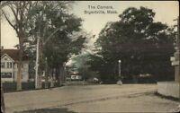 Bryantville MA The Corners c1910 Postcard