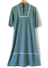 Vtg Lounge Dress 3/4 Sleeve Mid-Calf Size XS/S