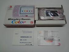 Wonderswan Color System Pearl Pink Shigeo Ltd Edition Bandai Japan