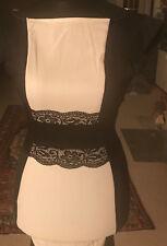 Stretch Kleid kurzes enges Sommer-Kleid s/w Cocktailkleid kurzes Schwarzes Gr. M