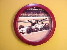 "Indy Racing GREAT Mario Andretti 9"" Wall Clock - FLASH SALE"