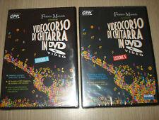 2 DVD VIDEOCORSO DI GUITARRA LECCIÓN N° 4 Y NO. 5 MÚSICA
