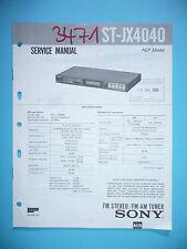 Service Manual für Sony ST-JX4040   ,ORIGINAL