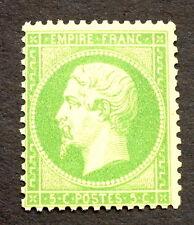 timbre france, n°20a, 5c vert, TB neuf ** cote  350€+50% signe Roumet qualité