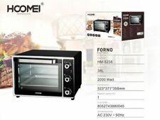 cc Forno Fornetto Elettrico 2000 Watt 38 Litri Luce Interna Timer Hoomei Hm-5238